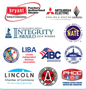 Partners of Bryant Air Conditioning, Heating, Electrical & Plumbing Lincoln NE | Lincoln NE Heating and Air | Waverly NE Heating and Air | Hickman NE Heating and Air | Seward NE Heating and Air
