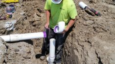 Wysong Plumbing Ground Work2